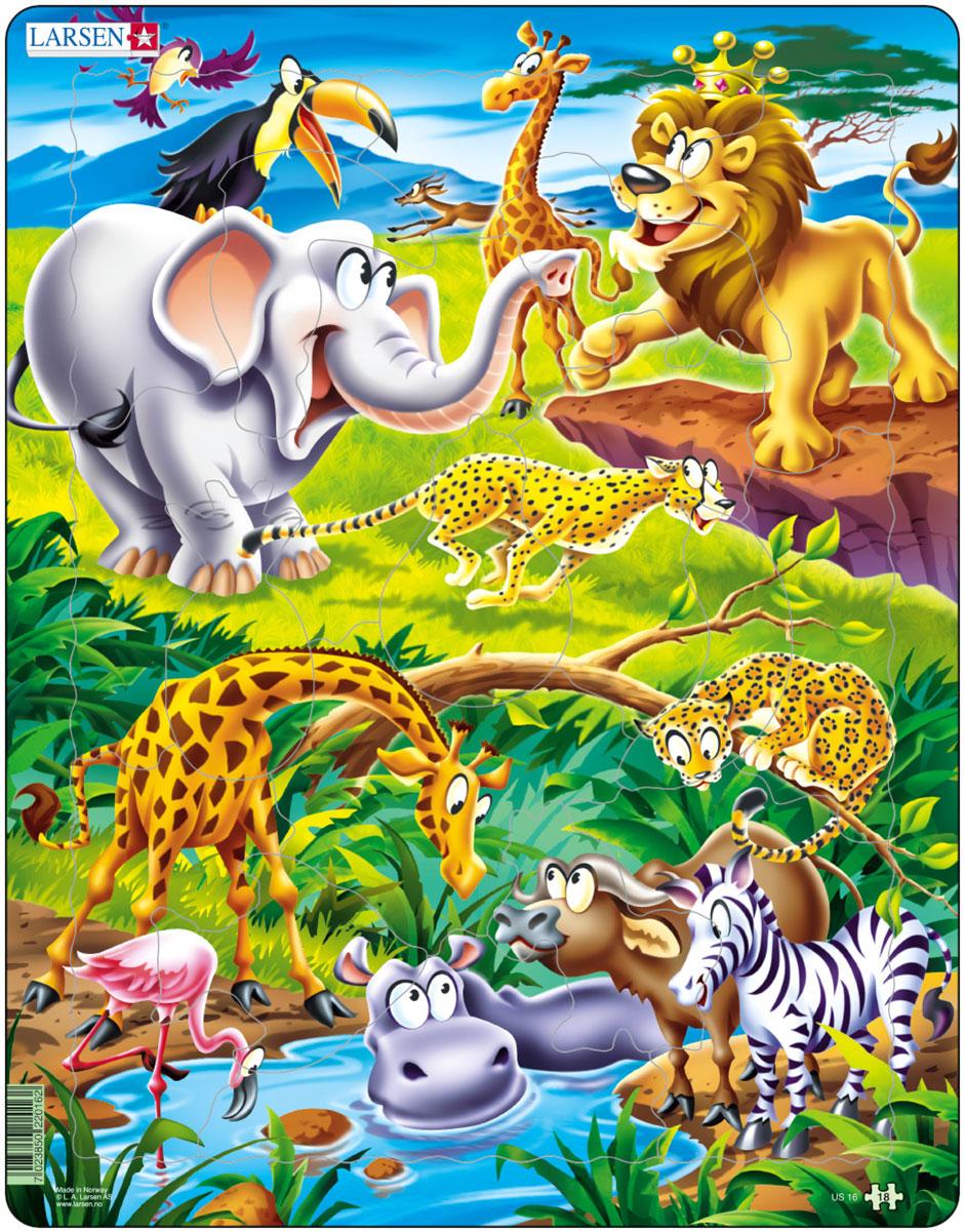 Животный мир рисунок детский