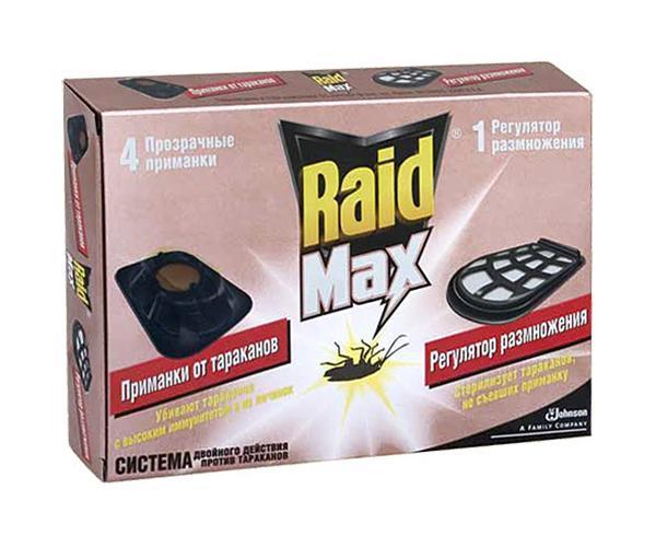 приманка от тараканов рейд макс