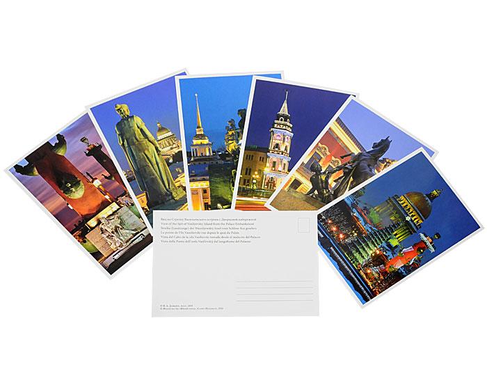 Набор открыток с видами санкт-петербурга, налоговая
