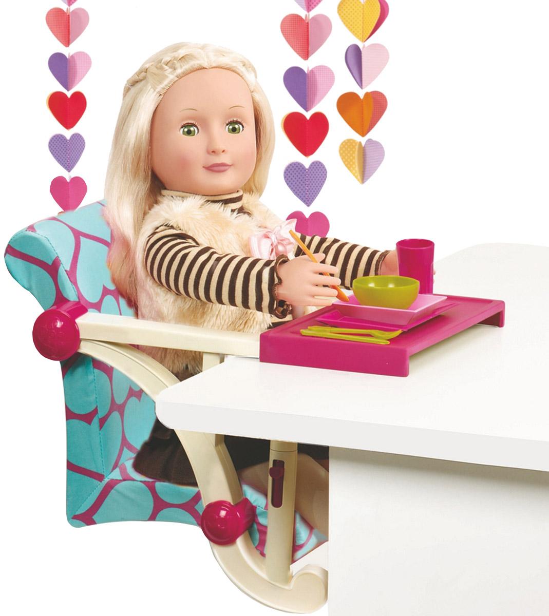 Стульчик для кормления кукольный